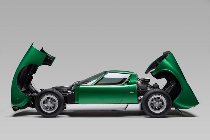 This Restored 1971 Lamborghini Miura SV Is a Work of Art