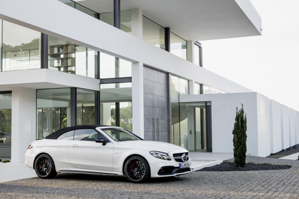 Mercedes-AMG Unveils the 2017 C63 Cabriolet