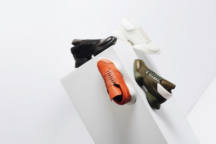 adidas by Rick Owens 2016 Spring/Summer Tech Runner