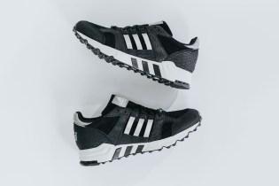 adidas EQT Running Cushion Black/Metallic Silver