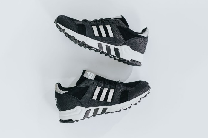 adidas EQT Running Cushion Black/Metallic Silver