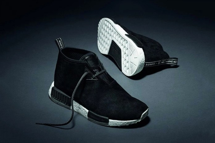 adidas Announces a Release Date for the Black Suede NMD Chukka