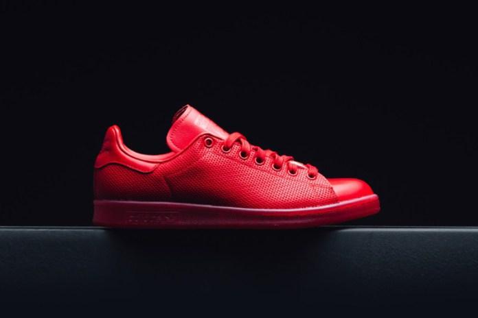 """adidas Originals Stan Smith adicolor """"Scarlet"""""""