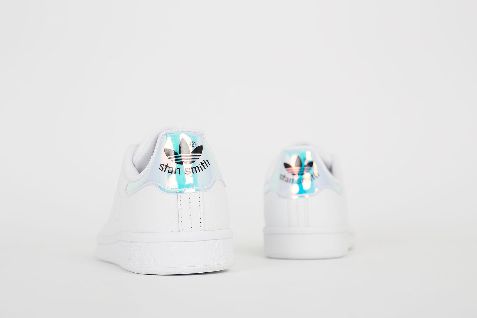 adidas originals stan smiths white metallic sneaker hypebeast. Black Bedroom Furniture Sets. Home Design Ideas