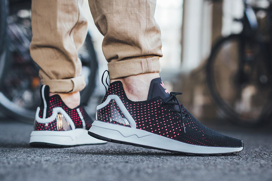 Adidas Zx Flux Adv Virtue Prime Knit Pink Blanket Adidas Zx