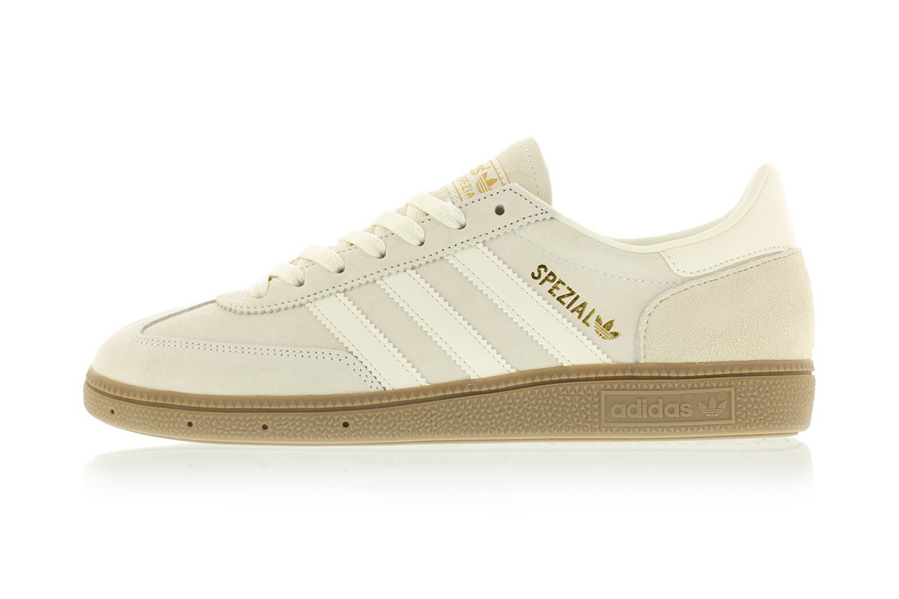 """adidas SPEZIAL """"Clear White/Crystal White"""" Is a Traditionally Clean Option This Spring"""