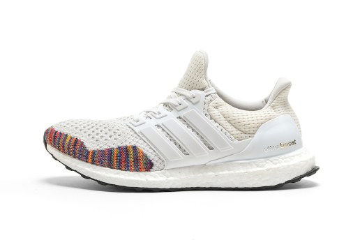adidas Adds a Splash of Rainbow-Colored Primeknit to the Ultra Boost