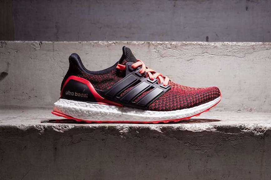 Adidas Ultra Boost St Black Red