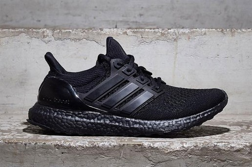 """adidas's Ultra Boost Receives a Highly Anticipated """"Triple Black"""" Makeover"""