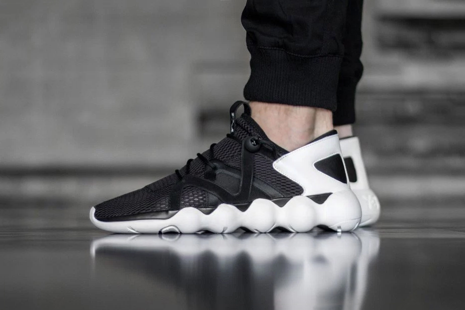 """A Closer Look at the adidas Y-3 Kyujo Low """"Black/White"""""""