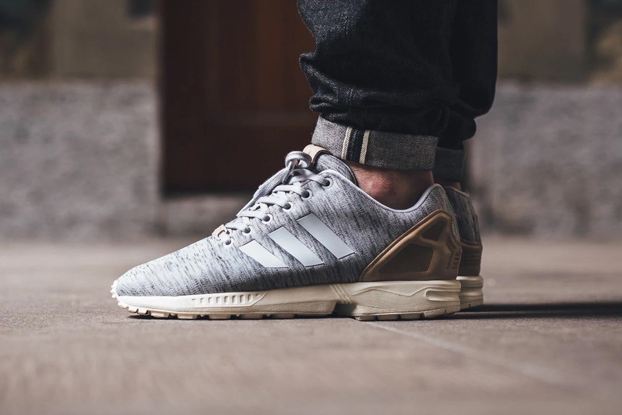 adidas's ZX Flux Gets a Natural Makeover With a Knitted Upper