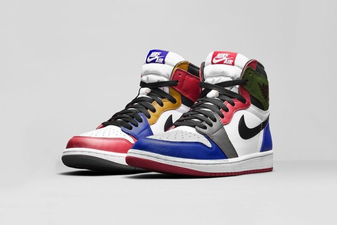 "A First Look at the Air Jordan 1 Retro High OG ""What The"""