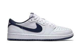 The Air Jordan 1 Retro Low OG Returns in White & Navy
