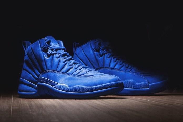 """The Air Jordan 12 """"Blue Suede"""" Is Coming Soon"""