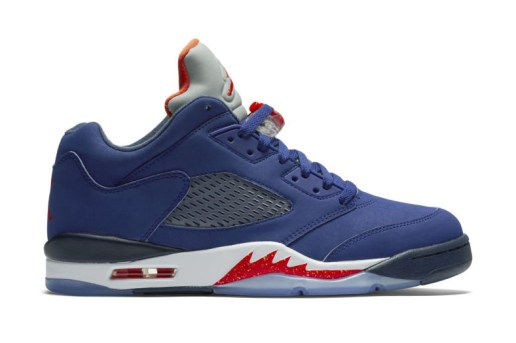 The Air Jordan 5 Retro Low Is Getting a Melo-Approved Makeover