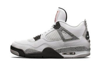 "Redeem Your Missed Chance With the Air Jordan 4 ""Cement"" Restock"