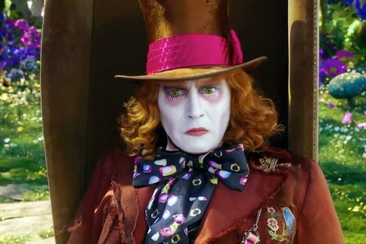 'Alice Through the Looking Glass' Trailer #2 Starring Johnny Depp & Mia Wasikowska