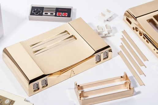 Analogue Nt's New 24K Gold NES Commemorates the 30th Anniversary of 'The Legend of Zelda'