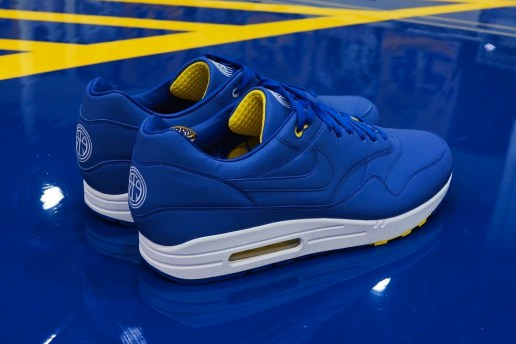 Andre Iguodola Designed a Golden State Warriors-Themed Nike Air Max 1 With 3M Reflective