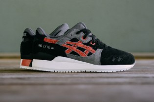 "ASICS Gel-Lyte III ""Black Chili"""