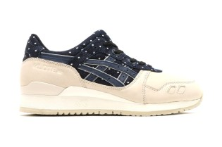 "ASICS Adds Another GEL-Lyte III to Its ""Indian Ink"" Pack"