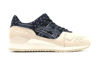 """ASICS Adds Another GEL-Lyte III to Its """"Indian Ink"""" Pack"""