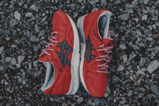 Chili Pepper Red Covers This ASICS GEL-Lyte V