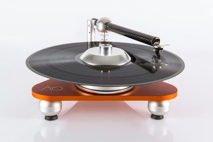 The Atmo Sfera Platterless Turntable Flips Conventional Design on Its Head