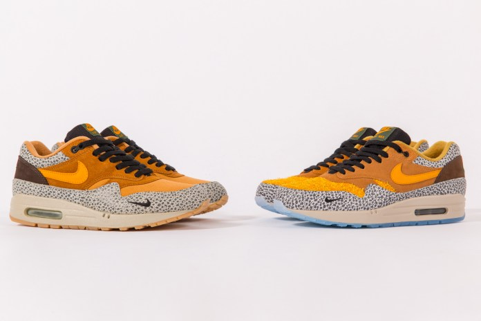 "Comparing the OG and Upcoming atmos Air Max 1 ""Safari"" Releases"