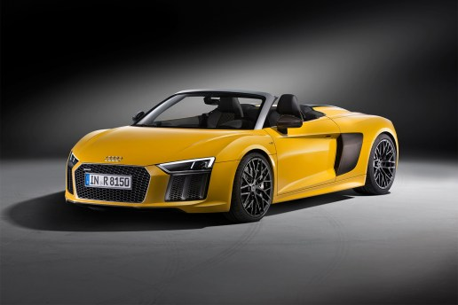 Audi Takes the Top off of the R8