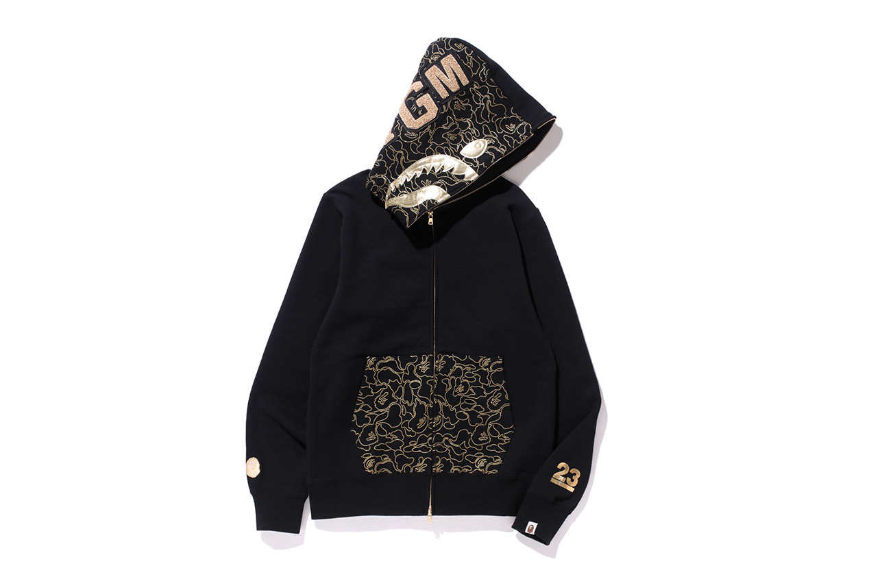 A Bathing Ape Drops a Gold-Themed 23rd Anniversary Collection
