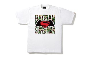 Batman and Superman Don BAPE Camo in New Capsule Collection