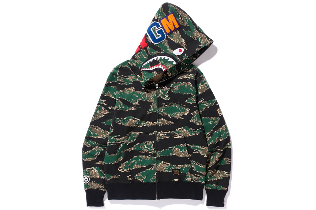 BAPE's Tiger Striped Camo Pattern Makes a Triumphant Return