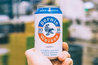 """Feel the Bern With """"Bernie Weisse"""" Beer"""