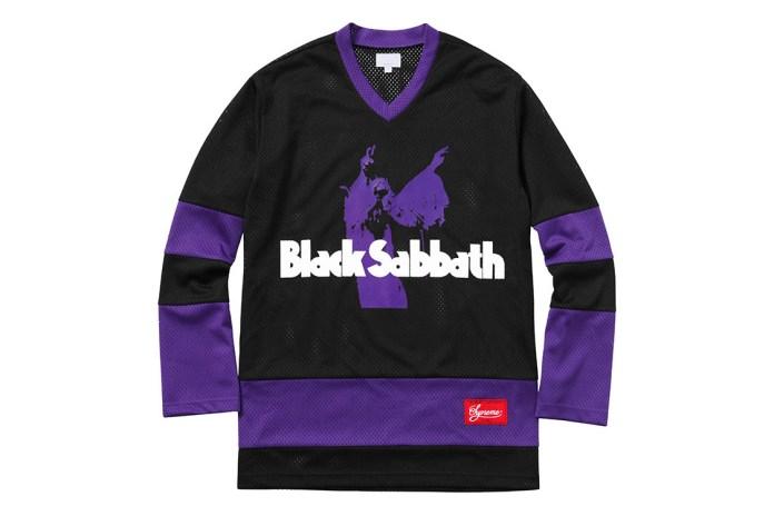 Black Sabbath x Supreme 2016 Spring/Summer Collection