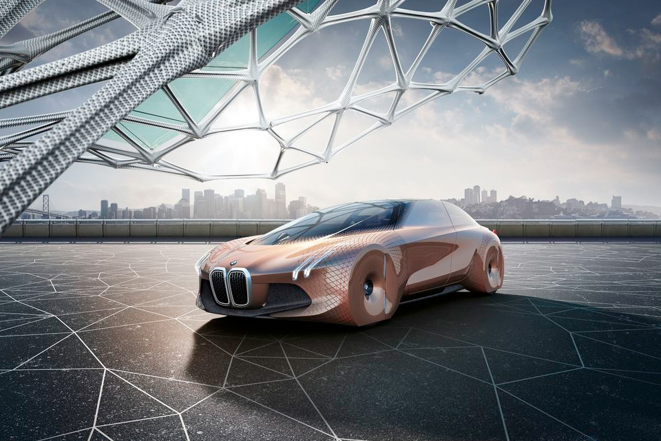 BMW Looks to the Future With Its Vision Next 100 Concept