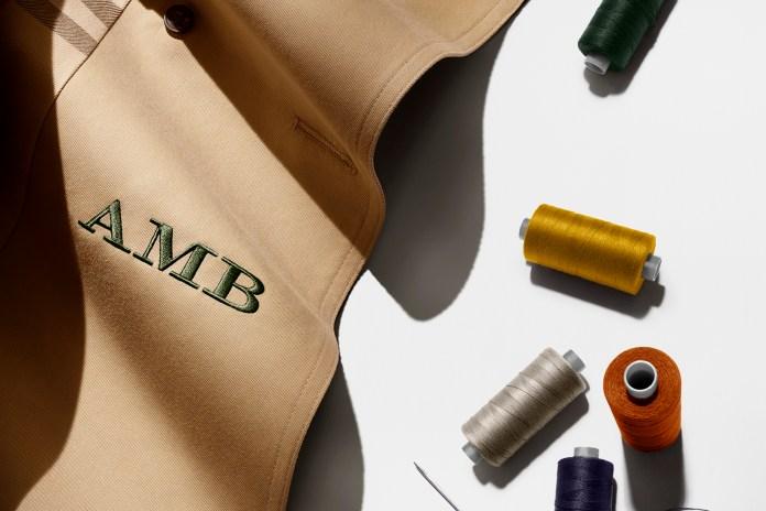Custom Monogramming Hits the Classic Burberry Trench Coat