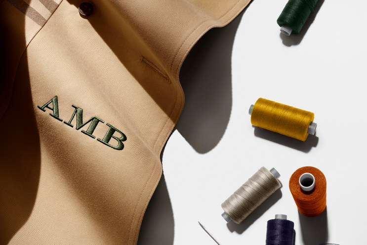 Custom Monogramming Hits the Classic Burberry Trench Coat