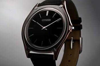 Citizen Unveils the World's Thinnest Light-Powered Watch