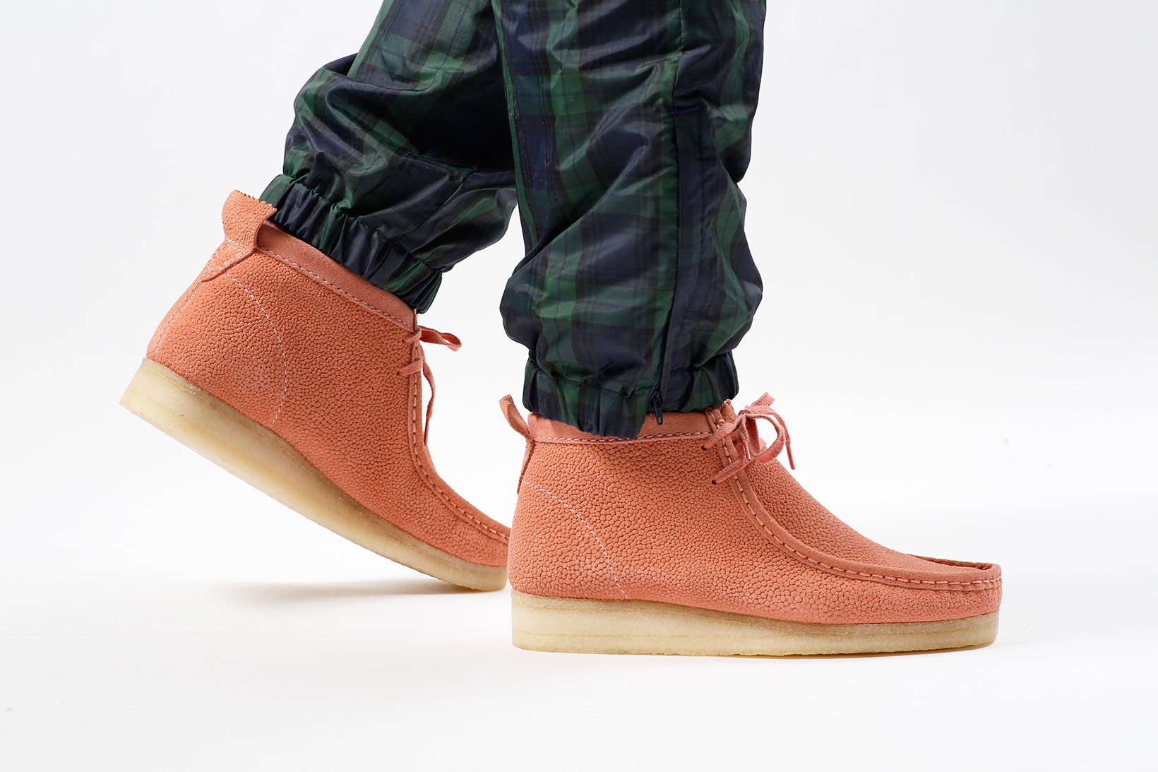 Concepts Gives the Clarks Wallabee and Trigenic Flex a Stingray Suede Makeover