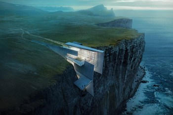 A Cliffside Retreat in Iceland With Breathtaking Oceanic Views