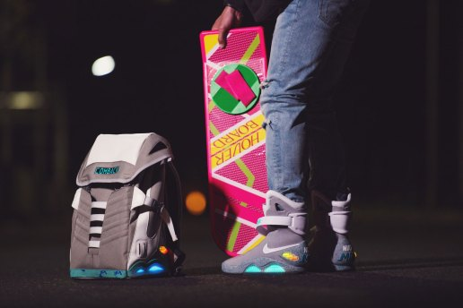 The COMBACK to the Future Backpack Is the Ultimate Nike MAG Accessory
