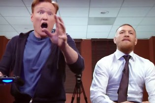 Conor and Conan Duke It out in a Virtual 'UFC 2' Knockout