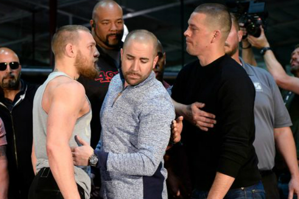 A Brawl Almost Broke out at Conor McGregor's Latest Explosive Press Conference