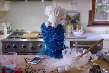 Cookie Monster Stars in Apple's Latest iPhone Ad