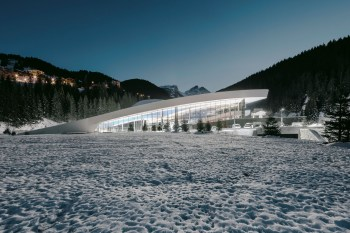 This Aquatic Center in Courchevel Is an Oasis in the Middle of the French Alps
