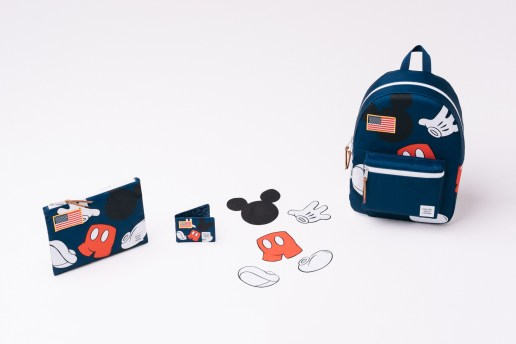 The World's Most Iconic Mouse Adorns Herschel's Latest Collaboration