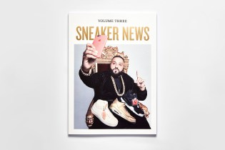 DJ Khaled Graces the Cover of Sneaker News: Volume Three