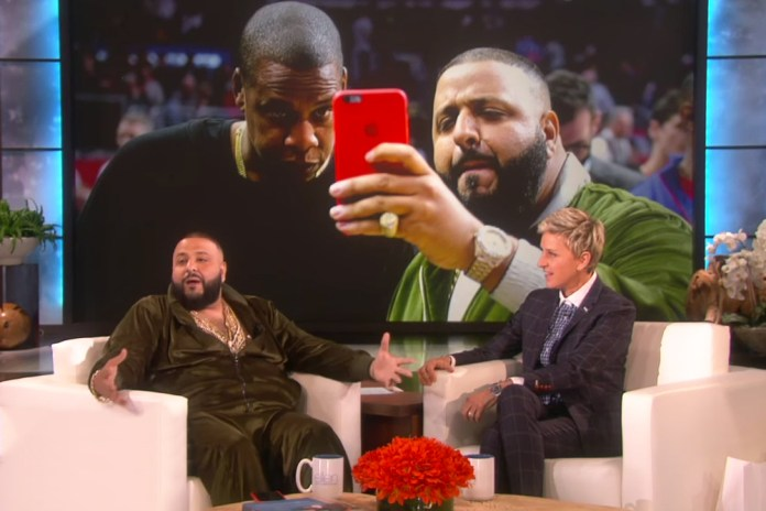 """DJ Khaled Explains Who """"They"""" Are on 'The Ellen Show'"""