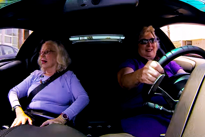 Watch These Grandmas Drive a Lamborghini Murcielago Like It's Nothing